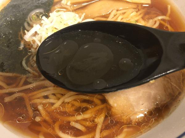 直久ラーメンのスープ